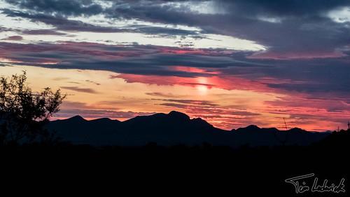 arizona cloud mountain sunrise landscape us unitedstates sansimon chiricahuamountains