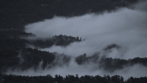 blackandwhite india nature clouds landscape mood tour hills monsoon bengal himalayas hillstation rainyseason kalimpong destinations dreamylandscape tuorism