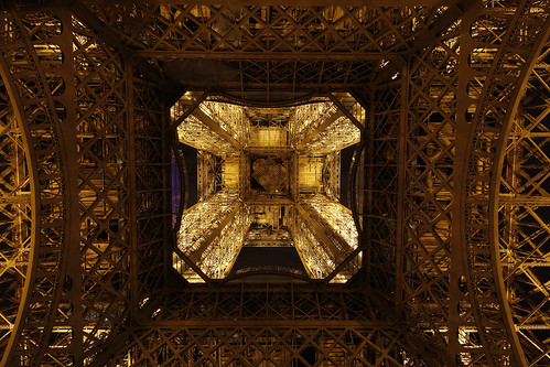 inside eiffel tower 2 | by Evelakes67
