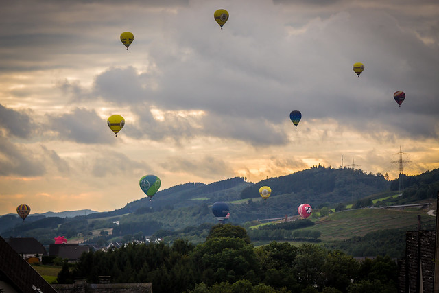 Balloons over the Ruhrtal