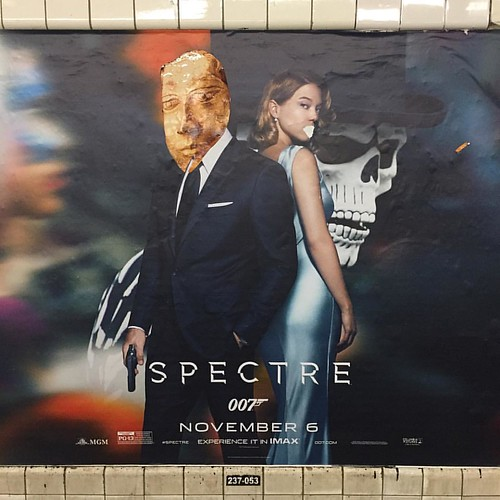 Solid welcome back from the Subway Bandit | by yewknee