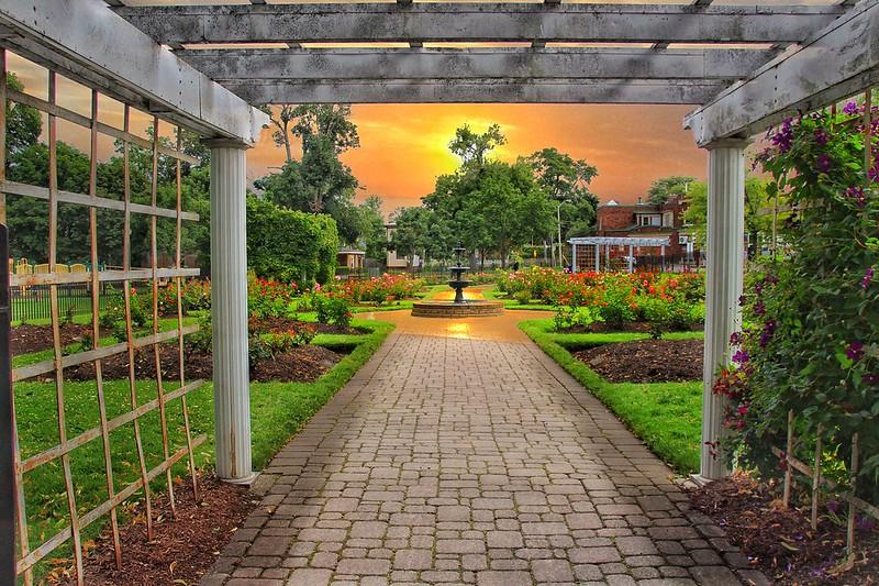 St Catharines Ontario ~ Canada ~  Montebello Park  ~ Rose Garden