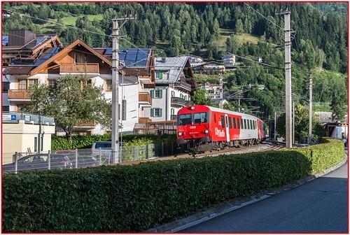 zellamsee austria österreich train railway öbb austrianfederalrailways österreichischenbundesbahnen 201607213507101border