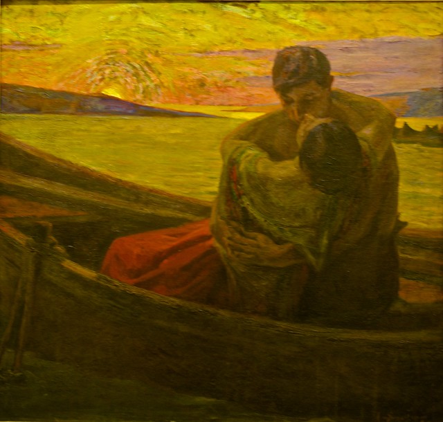 Know that, according the love you feel, the spirit shall you perceive (1910) - Adriano de Sousa Lopes (1879 - 1944)