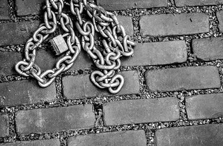 Brick and chain - Toronto | by Phil Marion (173 million views - THANKS)