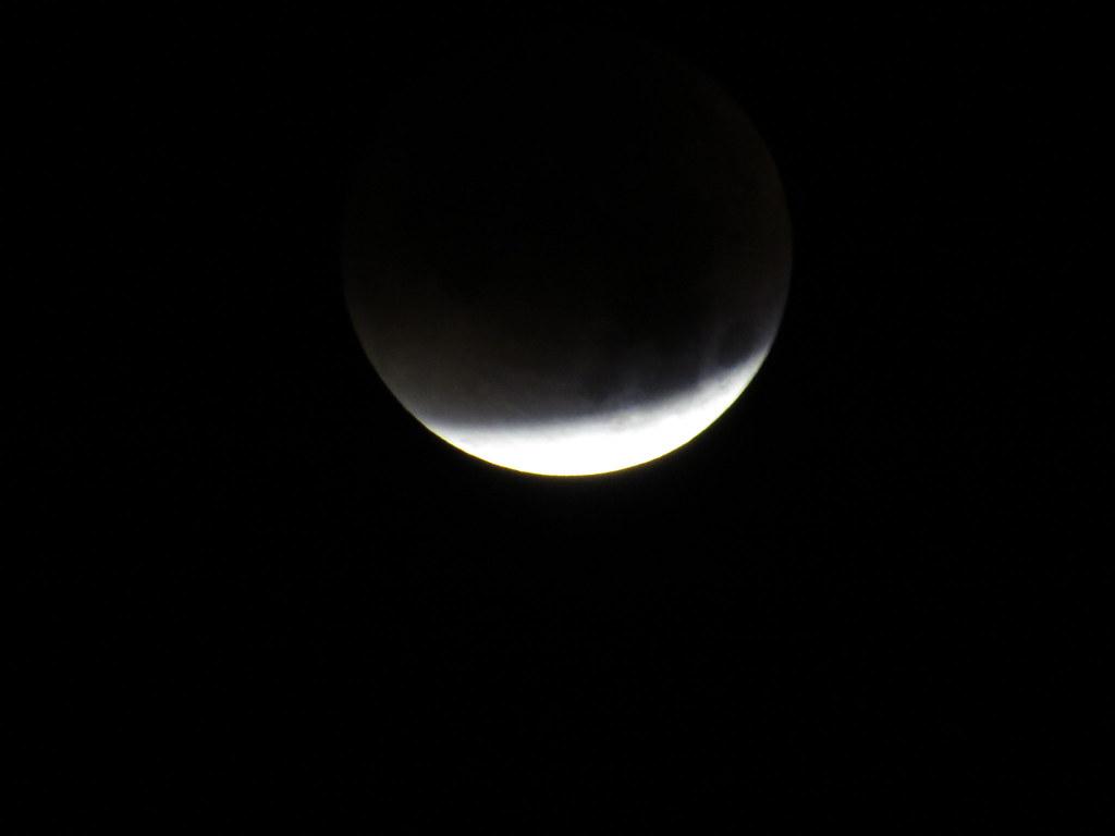 lunar eclipse 28. September 2015 view at 0201 UTC