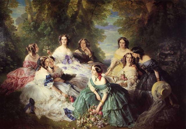 winterhalter_empress_eugenie_surrounded_her_ladies_waiting_dbis1_1855