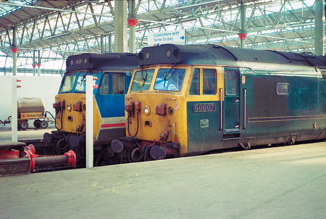 50007 50028 London Waterloo 10.11.89
