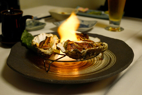 Flaming Oysters | by Buddha-Bellies