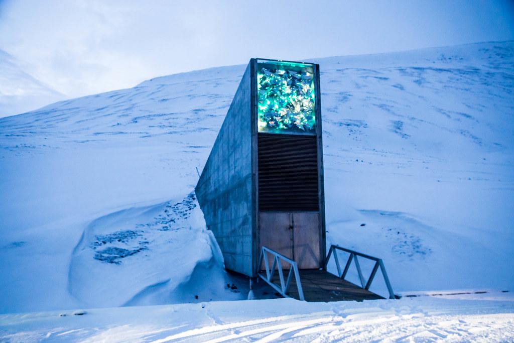 Doomsday Vault The Seed Vault In Svalbard Bmartinpr1 Flickr