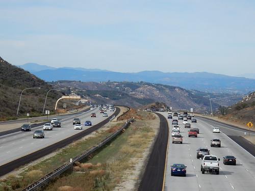 Highway I15 naar het noorden