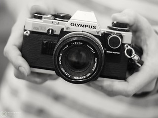 Olympus OM10 a great, budget film SLR. | by leapthroughthelens