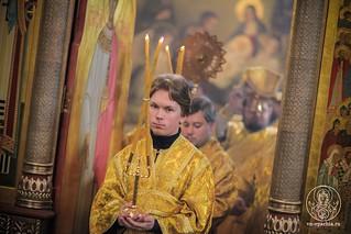 Литургия в Иверском монастыре  235