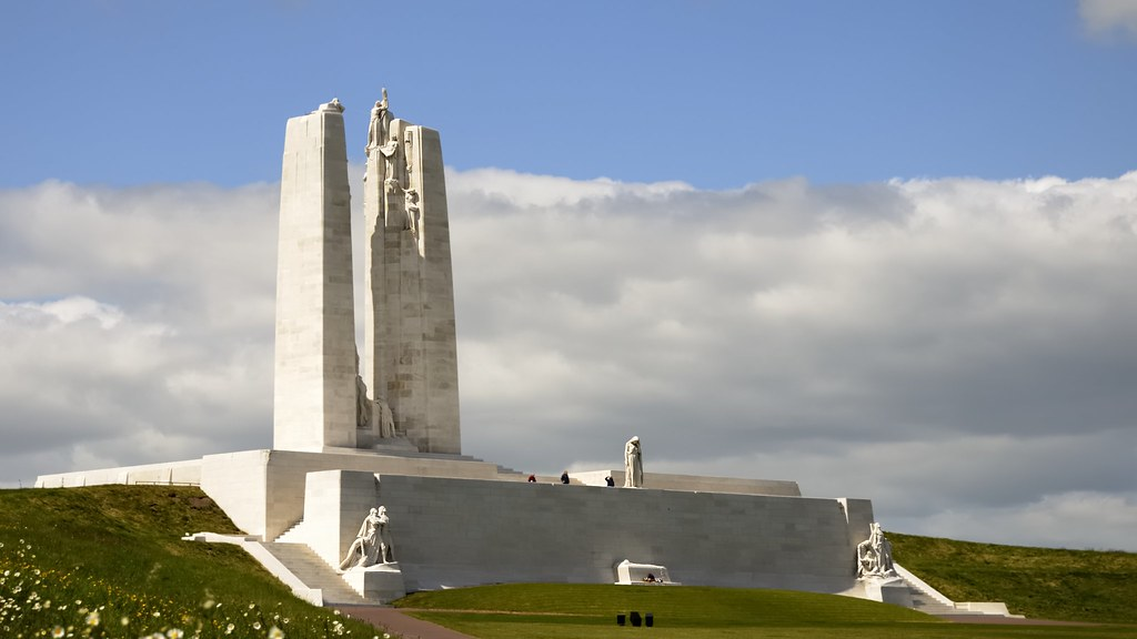 Image result for vimy ridge memorial