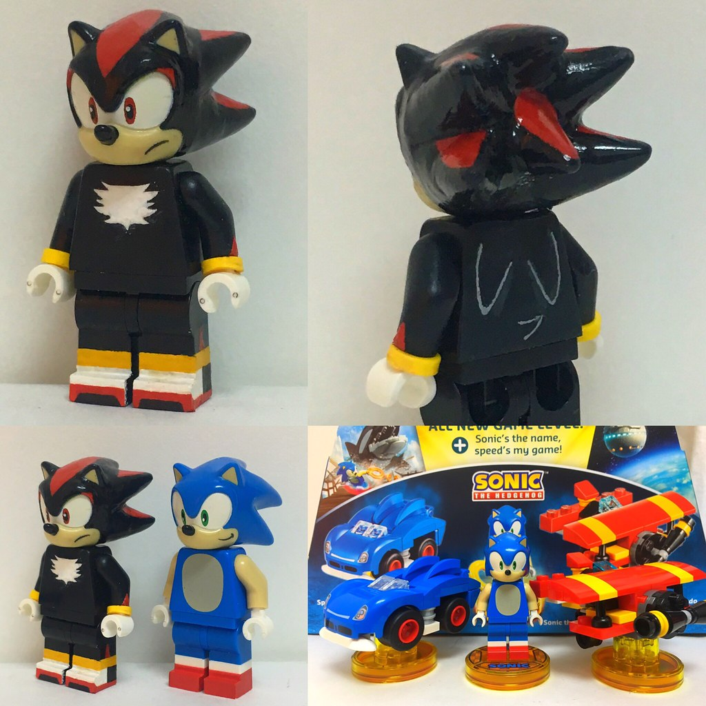 Shadow The Hedgehog Sonic The Hedgehog Lego Dimensions Flickr
