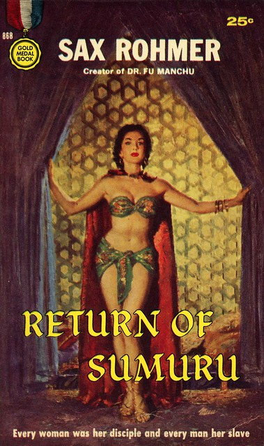 Gold Medal Books 868 - Sax Rohmer - Return of Sumuru