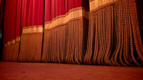 Project 366 #337: 021216 Curtain Up! | by comedy_nose