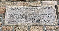 Plaque at St.Helier - David Minty