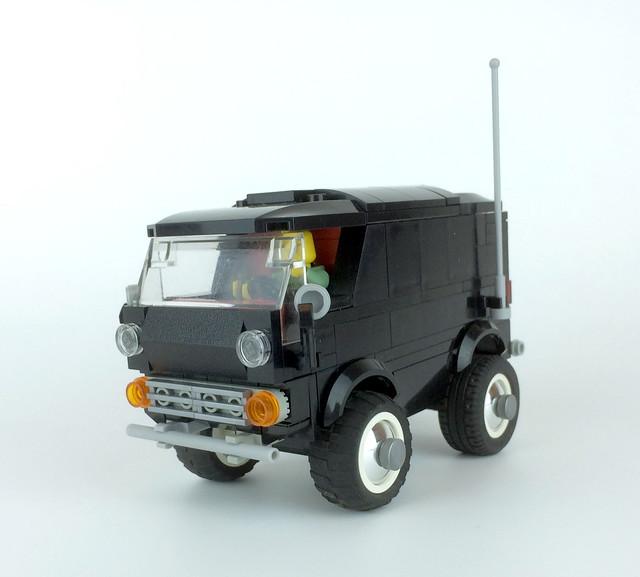 1964-66 Chevy G-10 panel van custom