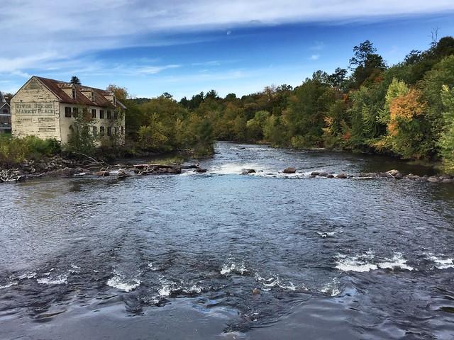 Schroon River in October
