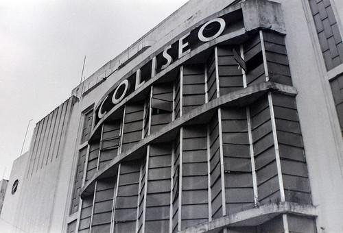 Antiguo cine Coliseo ubicado en el centro histórico de la ciudad de Puebla.