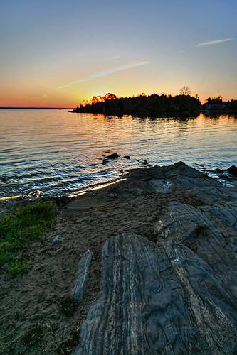 sunrise river rocks ottawa madawaska arnprior