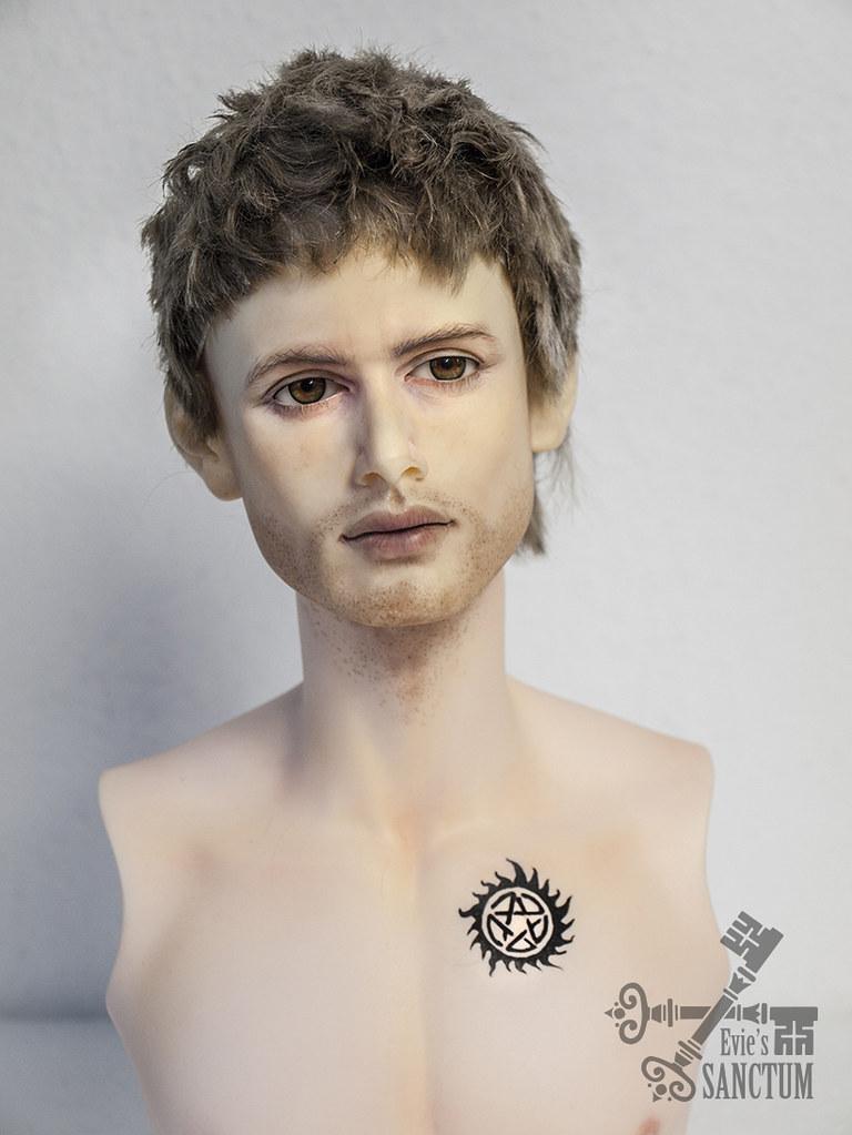 Modoll Jensen Ackles + Supernatural tattoo | commission