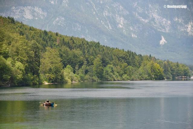 Soutaja Bohinj-järvellä