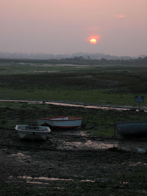 Langstone harbour near Emsworth