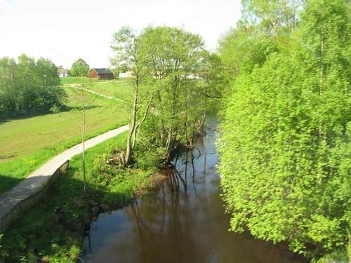västragötaland herrljunga 2010 tåg train västtrafik å river