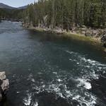 Yellowstone River from Chittenden Bridge