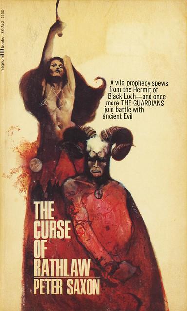Magnum Books 73-750 - Peter Saxon - The Curse of Rathlaw