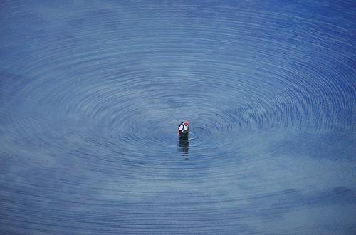 Making ripples. | by Steven Ruffles