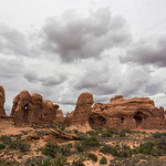 Stormy skies, Arches