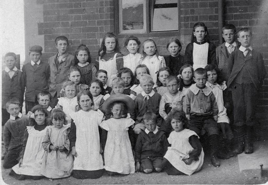 Victorian School Children  Vintage Ladies  Flickr-6054