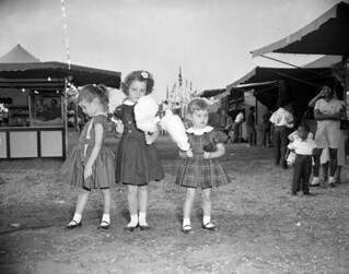 Girls at the North Florida Fair - Tallahassee