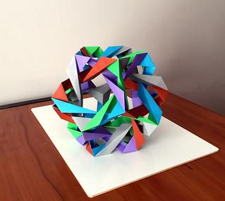 Woven Fourteenth Stellation of the Icosahedron | by Daniel Kwan