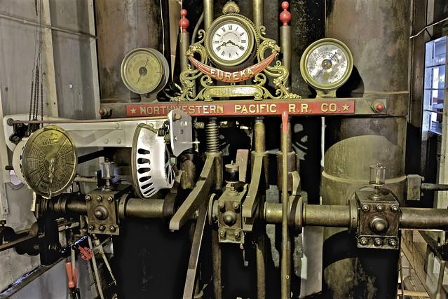 Steam Ferry Eureka Engine Controls ...