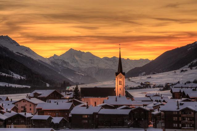 Ulrichen, Goms, Schweiz