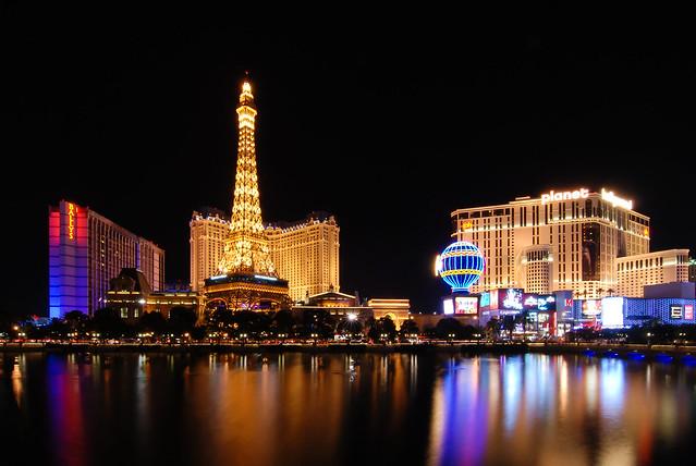 Las Vegas Strip View from Bellagio