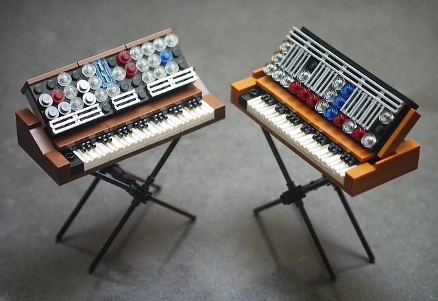 Mini Minimoogs - Model D and Voyager Old School