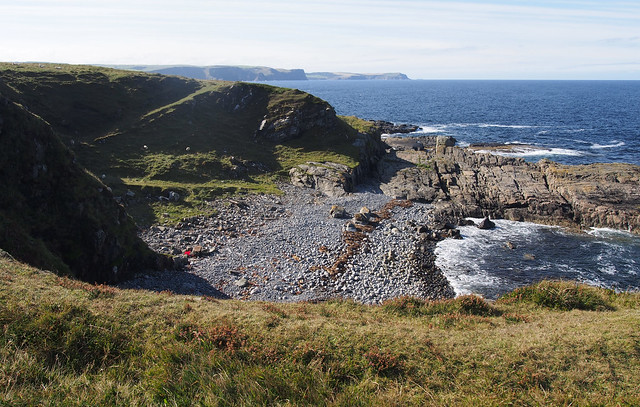 The coast between Rosehearty and Aberdour