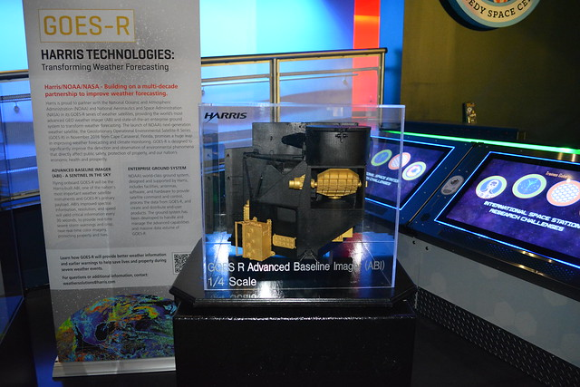 GOES-R ABI Exhibit at Kennedy Space Center