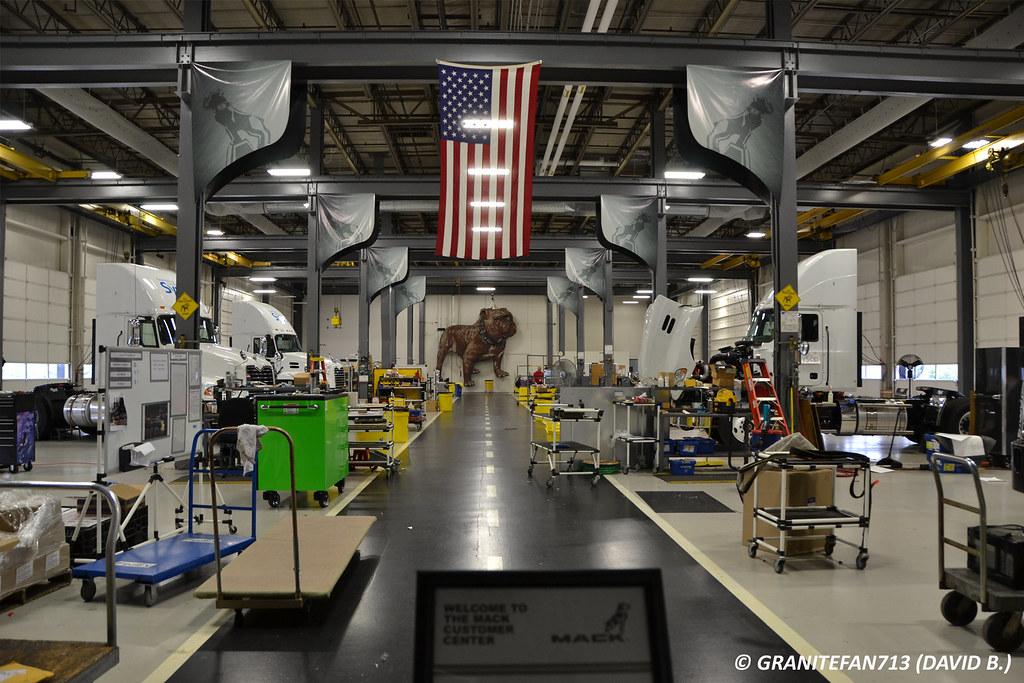 Mack MOD Center | Trucks, Buses, & Trains by granitefan713 | Flickr