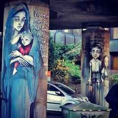 Great @herakut work - #Munich #Germany #streetart #graffiti #streetart_daily #urbanart