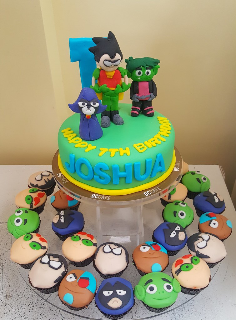 Teen Titans Cake | liza | Flickr