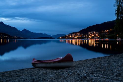 dsc06028 queenstown nz lakewakatipu lake wakatipu frankton beach canoe