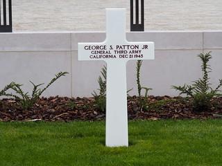 George S. Patton Jr's Grave   by Rick Payette