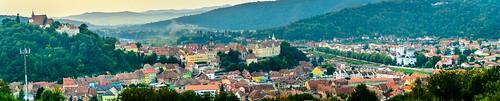 Panoramic Schäßburg Medieval Citadel   by Andrei-Daniel Nicolae
