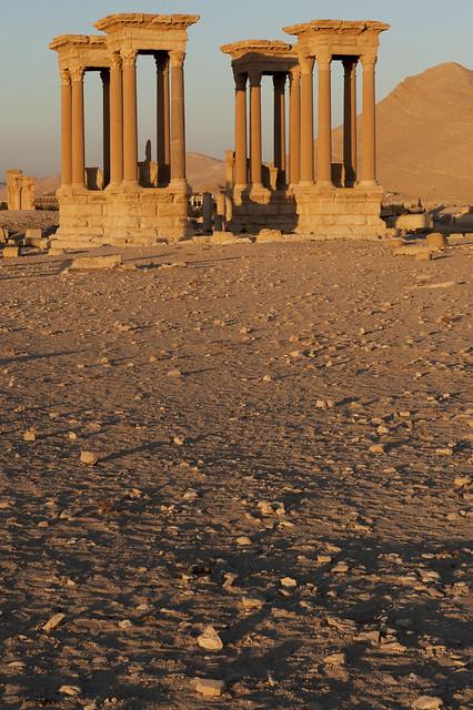 Remembering Palmyra: Tertrapylon